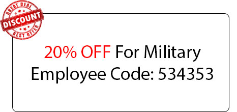 Military Employee Coupon - Locksmith at Winfield, IL - Winfield Locksmith